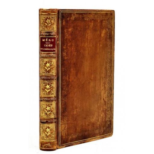 Honoré Méro : ODES ANACREONTIQUES, Cômes de Médicis, Contes etc. 1781