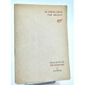 Aragon : LE CREVE-COEUR . 1942