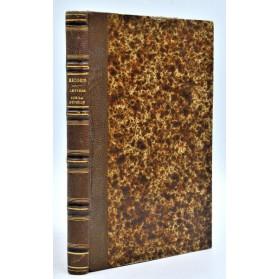Philippe Ricord : LETTRES SUR LA SYPHILIS - 1851