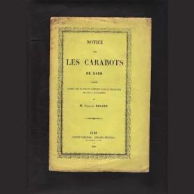 Notice sur les Carabots de Caen