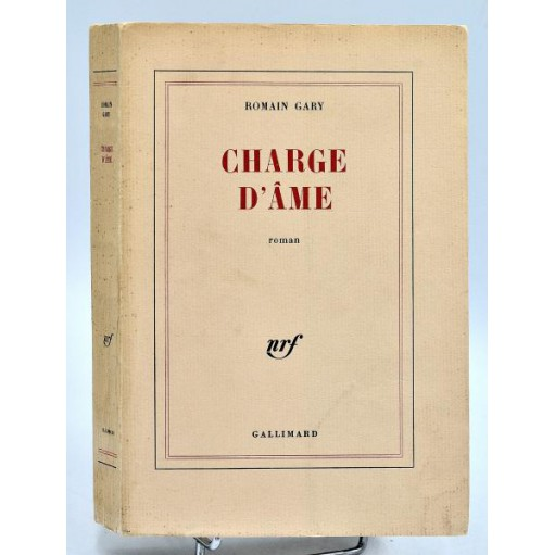 Romain Gary : CHARGE D'ÂME - Edition Originale, ex. numéroté 9/20 sur Hollande
