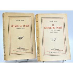 André Gide : VOYAGE AU CONGO -1927, & LE RETOUR DU TCHAD - 1928