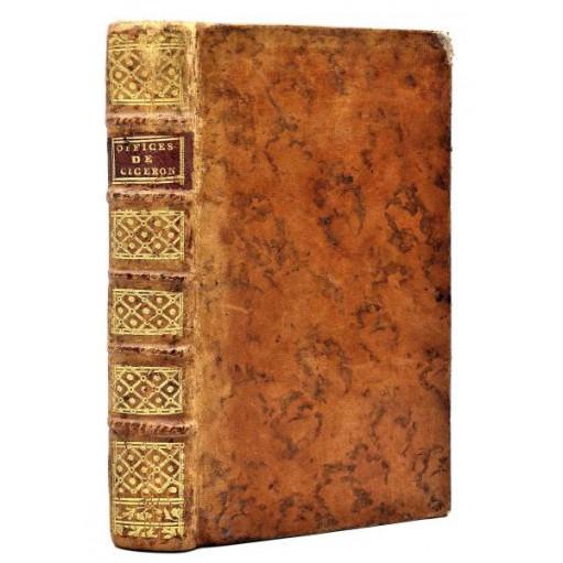 LES OFFICES DE CICERON, édition bilingue. 1768. Traduction par M. de Barett