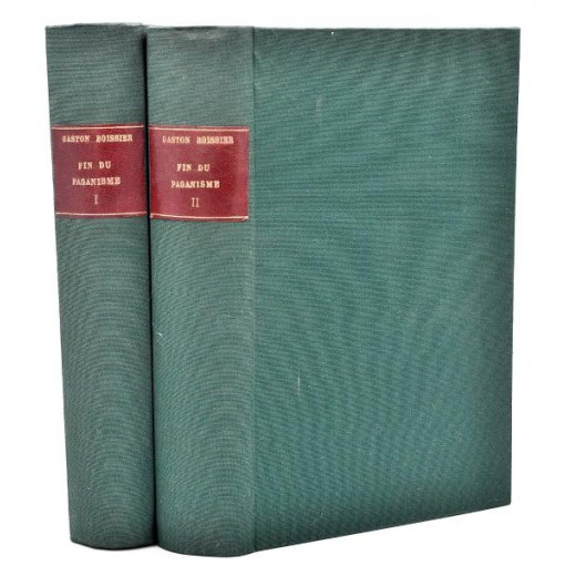 Gaston Boissier : LA FIN DU PAGANISME - 1891