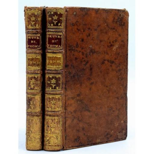 OEUVRES DIVERSES DE M. THOMAS -Lyon 1767