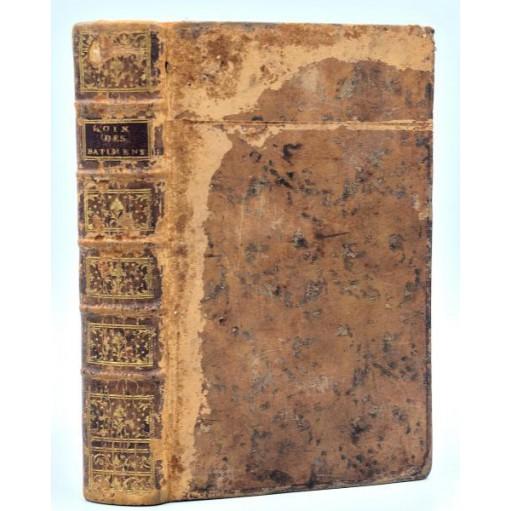 Desgodets, LES LOIS DES BATIMENS, suivant la COUTUME DE PARIS. 1777