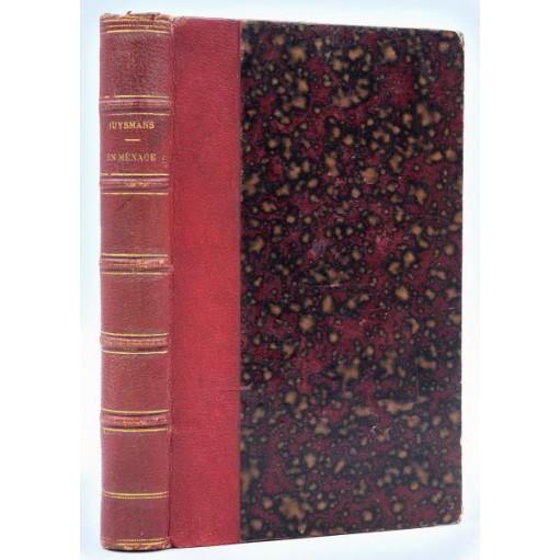 J.-K. Huysmans : EN MENAGE - 1881