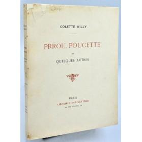 Colette Willy : PRROU, POUCETTE et QUELQUES AUTRES - Edition originale, 1913
