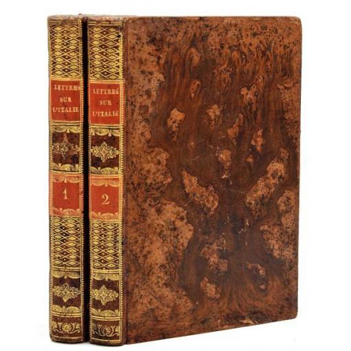 Charles Dupaty, LETTRES SUR L'ITALIE EN 1785 par M. Du Pati. 1789