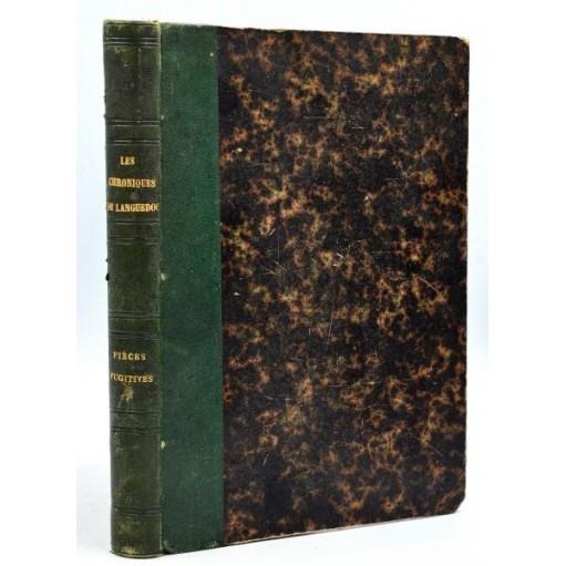 Recueil de trois ouvrages Régionalisme XIXème AIGUES-MORTES, LANGUEDOC, TOULOUSE, Etc