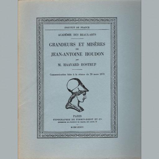 Grandeurs et misères de Jean-Antoine Houdon