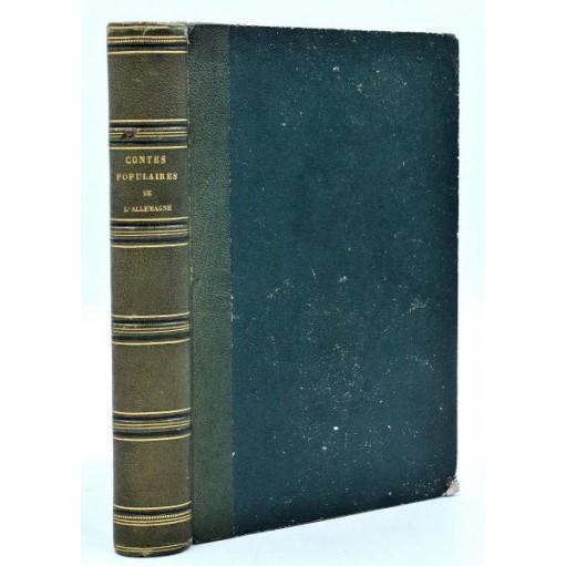 Musaeus : CONTES POPULAIRES DE L'ALLEMAGNE...Ill. 300 vignettes allemandes. 1846
