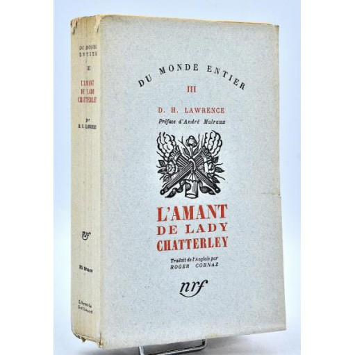 D. H. Lawrence : L'AMANT DE LADY CHATTERLEY. 1932, E.O.