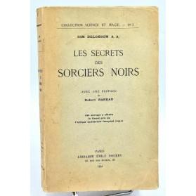 Dim Delobsom : LES SECRETS DES SORCIERS NOIRS. 1934