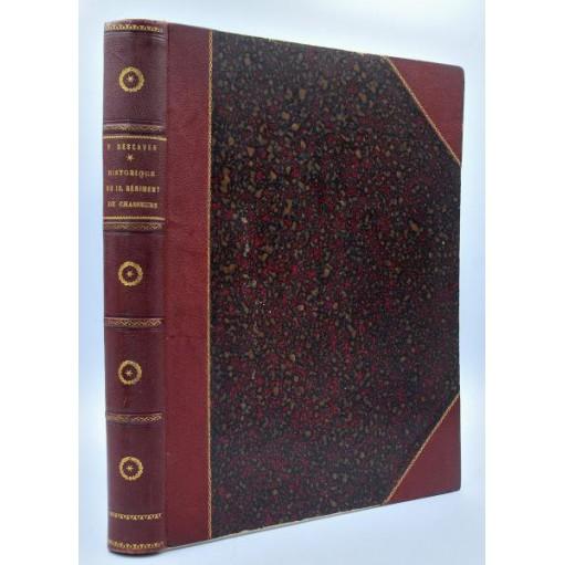 P. Descaves : HISTORIQUE du 13° REGIMENT DE CHASSEURS. 1891