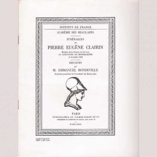 Funérailles de Pierre Eugène Clairin