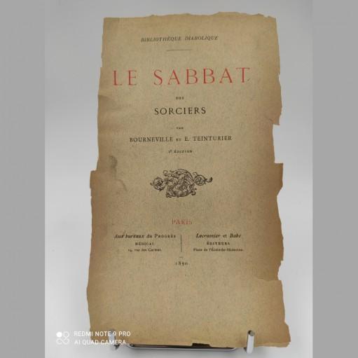 Le sabbat des sorciers Désiré Magloir Bourneville Bibliothéque Diabolique