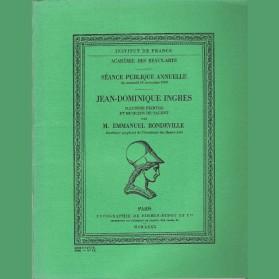 Jean-Dominique Ingres illustre peintre et musicien de talent