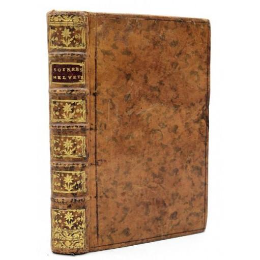 Marquis de Pezay : LES SOIREES HELVETIENNES, ALSACIENNES et FRAN-COMTOISES -1771