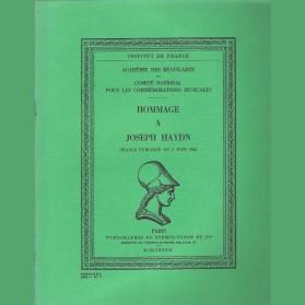 Hommage à Joseph Haydn