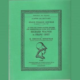 Une correspondance entre deux génies : Richard Wagner et Franz Liszt, en 2 publications