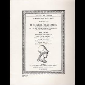 Funérailles de M. Eugène Beaudouin