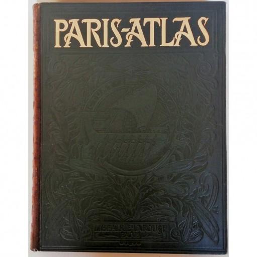 Paris Atlas par Fernand Bournon