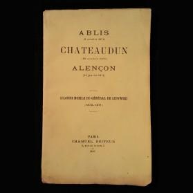 Ablis (8 octobre 1870), Chateaudun (18 octobre 1870), Alençon (15 janvier 1871),Colonne mobile du général Lipoxski (1870-1871)