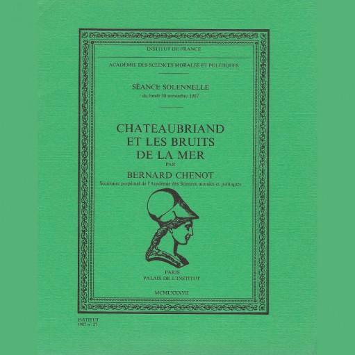 Chateaubriand et les bruits de la mer