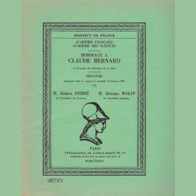 Hommage à Claude Bernard