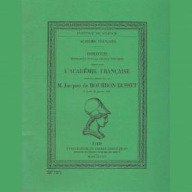 Réception de M. Jacques de Bourbon Busset