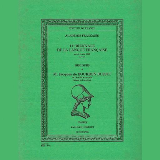 11ème biennale de la langue française