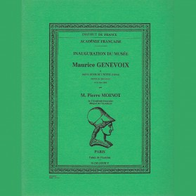 Inauguration du musée Maurice Genevoix