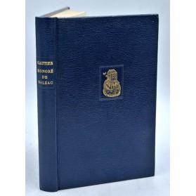 Théophile Gautier : HONORE DE BALZAC. 1973 - Reprint Poulet-Malassis 1859