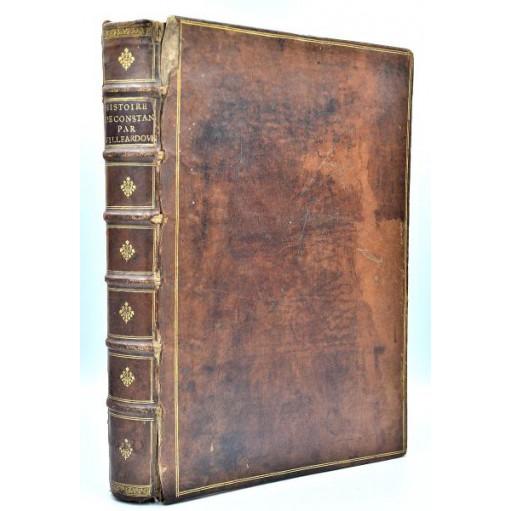 HISTOIRE DE L'EMPIRE DE CONSTANTINOPLE SOUS LES EMPEREURS FRANÇOIS, Divisée en deux parties - 1657