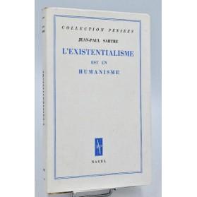 Jean-Paul Sartre: L'EXISTANTIALISME EST UN HUMANISME -1946. 1/500 tirage de tête