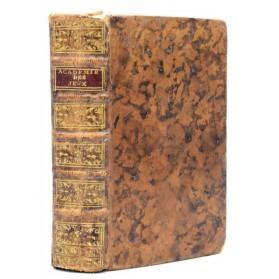 ACADEMIE UNIVERSELLE DES JEUX - 1767