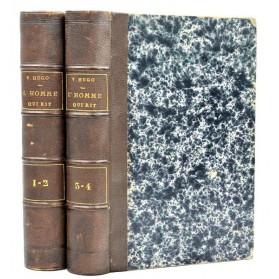 Victor Hugo : L'HOMME QUI RIT. Edition Originale 1869