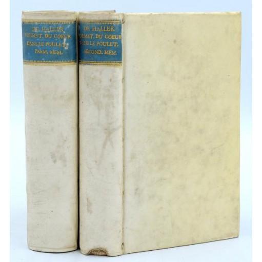 Albrecht von Haller : SUR LA FORMATION DU COEUR DE LA POULE... 1758