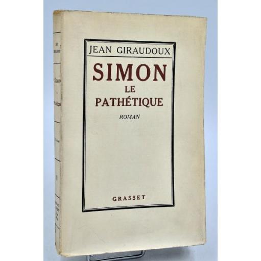 Jean Giraudoux : SIMON LE PATHETIQUE, 1926
