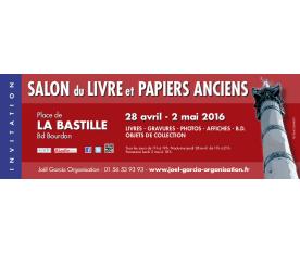 Salon du livre et papiers anciens La Bastille Paris