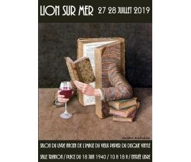 Salon du vieux papier et du disque vinyle de Lion sur Mer 27 et 28 juillet 2019